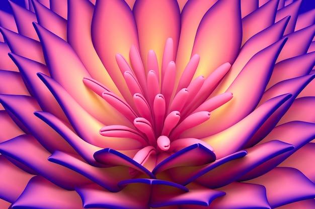 花の美しい背景。