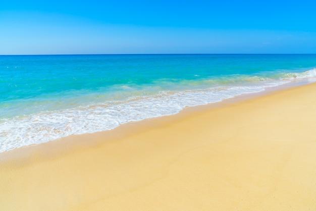 아름다운 해변과 바다