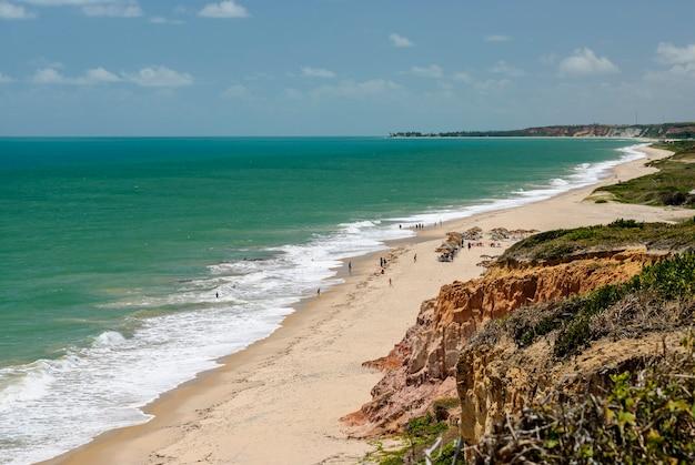 ジョアンペソアパライバブラジルの近くの美しいビーチコンデ