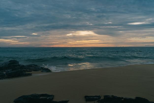 아시아의 아름다운 해변