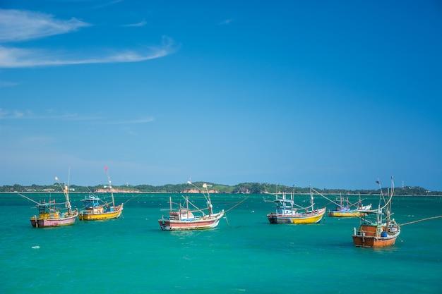 Beautiful beach landscape in sri lanka