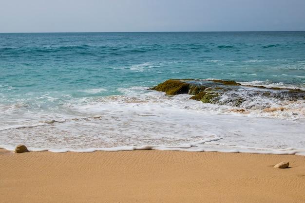 Beautiful beach view summer holiday