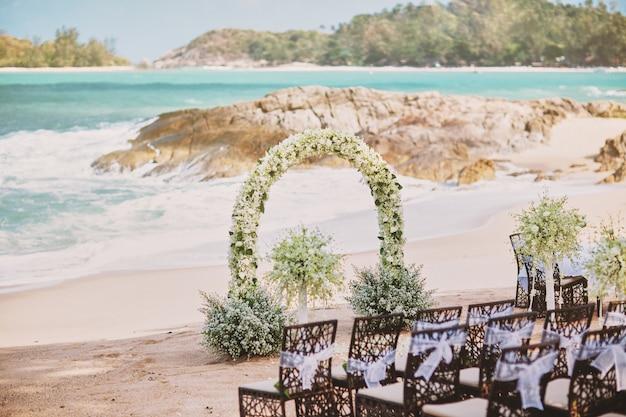 Beautiful beach wedding
