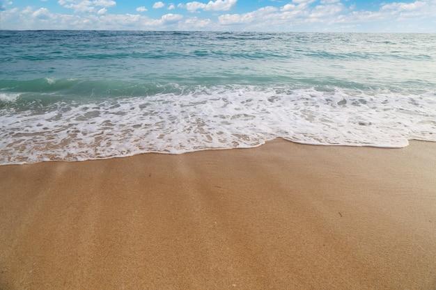青い空と美しいビーチ