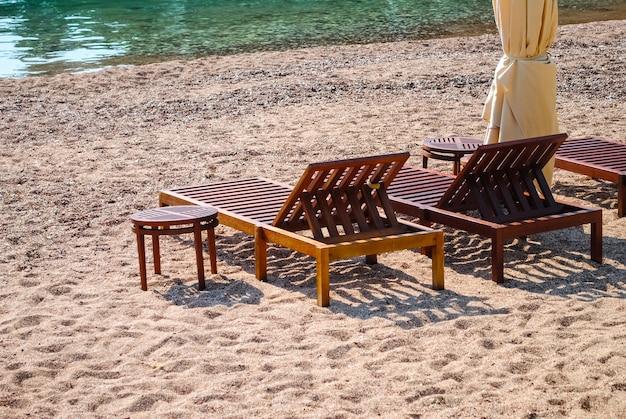 The beautiful beaches of montenegro