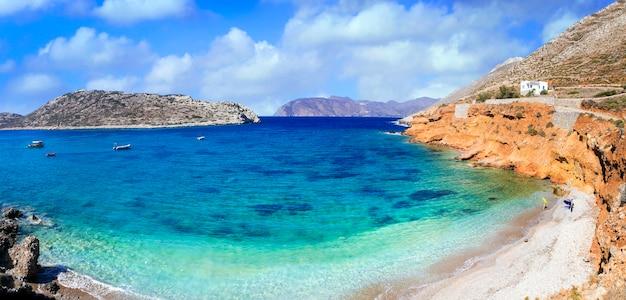 Прекрасные пляжи серии греции.
