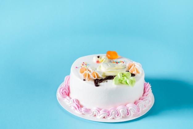 아름다운 큰 케이크