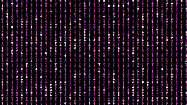 Красивый черный фон с фиолетовым блеском. 3d иллюстрация