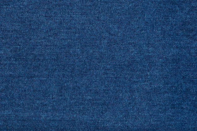 Beautiful blue denim indigo fabric texture.