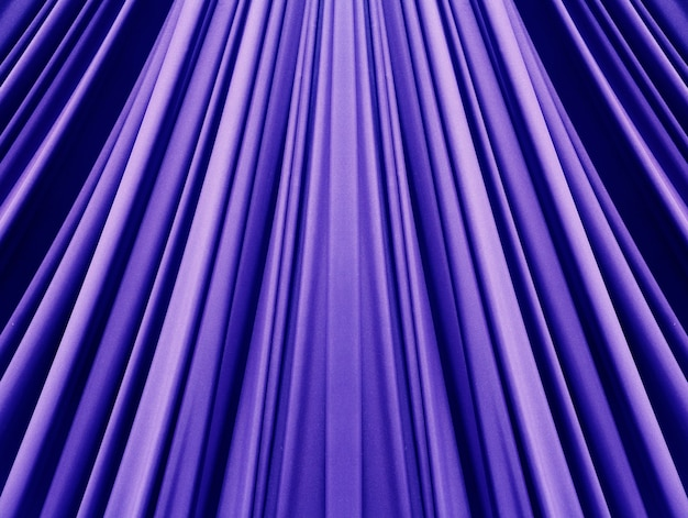 Beautiful blue fabric background
