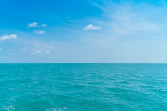 Beautiful Blue sea and sky
