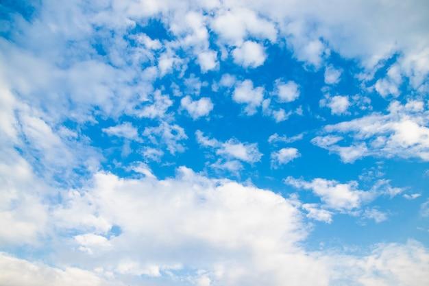 아름다운 푸른 하늘 배경 질감 밝고 눈을 하늘을 즐기십시오