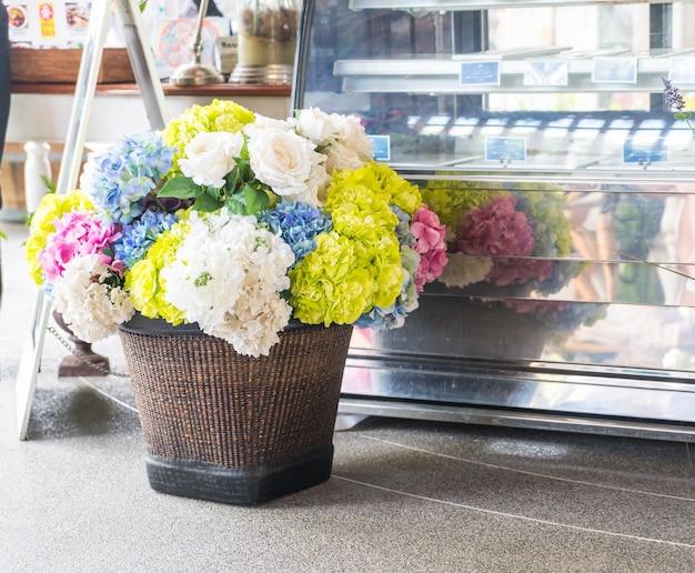 美しい花束の花