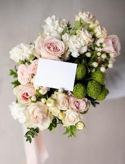 Bellissimo bouquet con nota