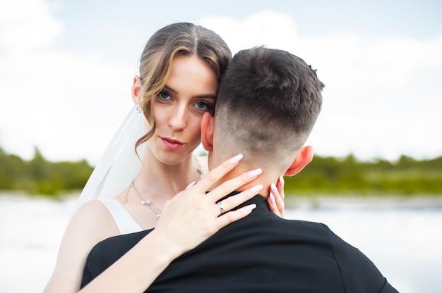 美しい花嫁の結婚式の日