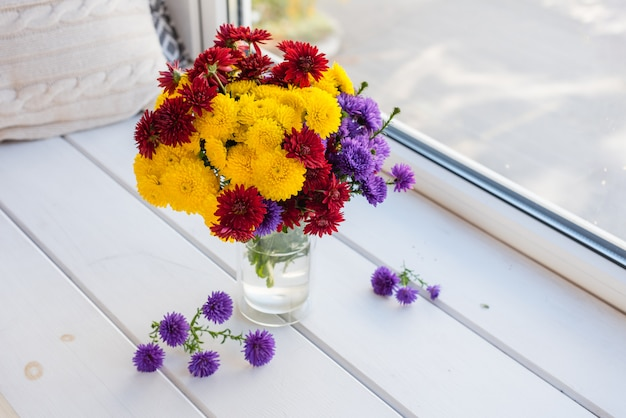 Beautiful bright colorful bouquet