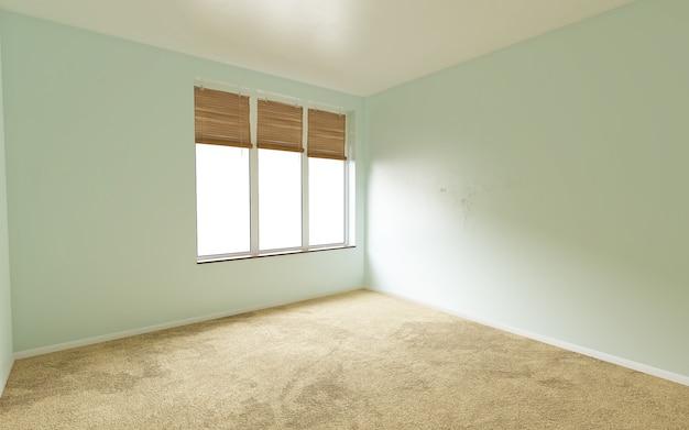 태양 빛이 통과하는 아름다운 밝은 방