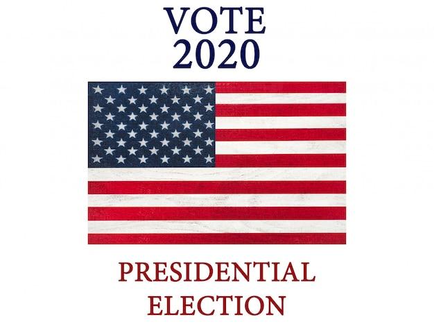 미국 국기의 이미지가 담긴 아름다운 카드