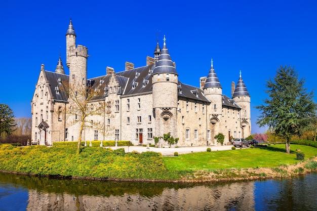 Красивые замки бельгии, марникс, борнем