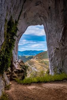 The beautiful the caves of ojo de aitzulo in oñati, gipuzkoa