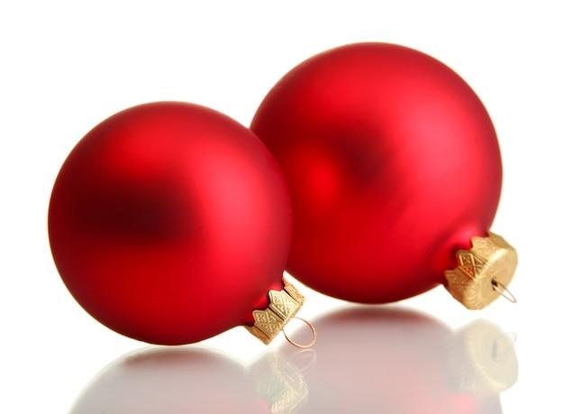 화이트에 아름 다운 크리스마스 공