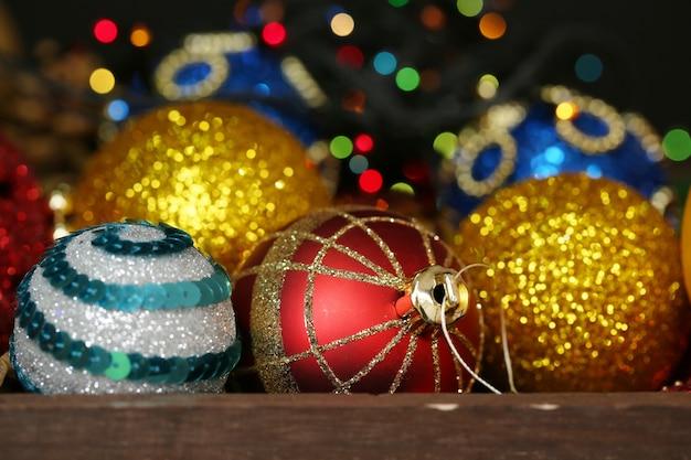 Beautiful christmas decorations background