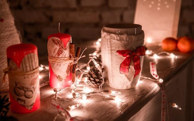 美しいクリスマスの飾り