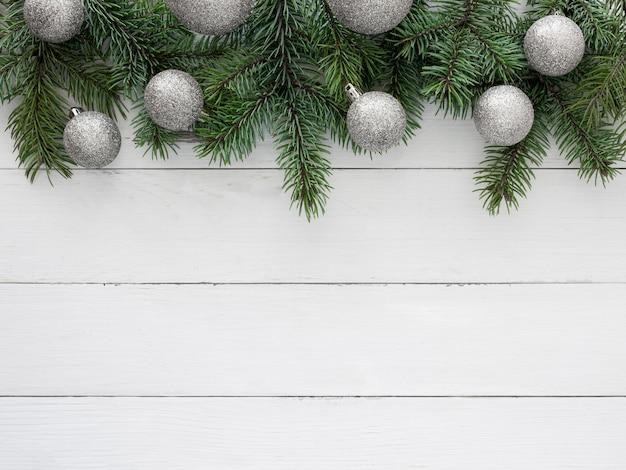 コピースペースと美しいクリスマスイブのコンセプト