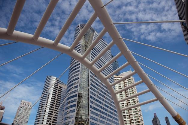 방콕 시 사톤 비즈니스 센터의 아름다운 풍경