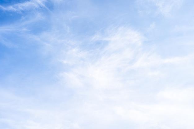 푸른 하늘 배경으로 아름다운 cloudscape
