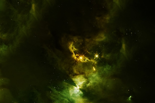 美しい色の銀河。星のある青い空間。この画像の要素はnasaから提供されました。高品質の写真