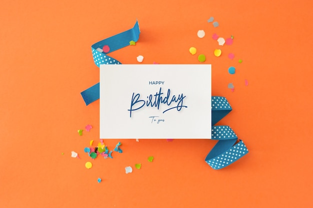 Beautiful colorful background to congratulate birthday