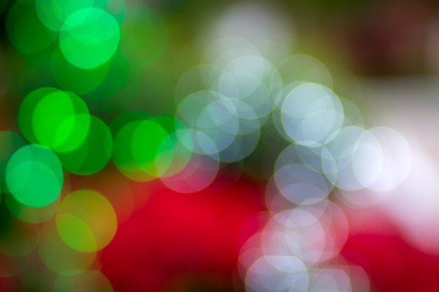 Beautiful colorful bokeh light abstract background