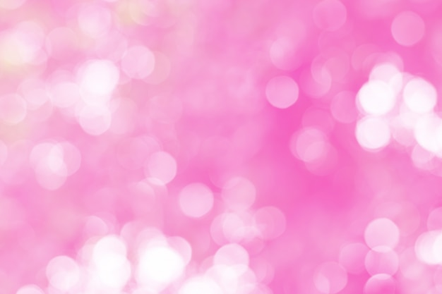 Beautiful and colorful bokeh of  lights for background abstract.