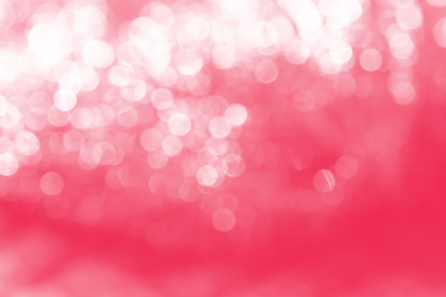 Beautiful and colorful bokeh of lights background abstract.