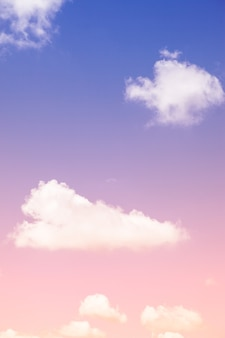 Beautiful colorful sky and clouds background.