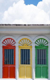 Beautiful and colorful window styles.