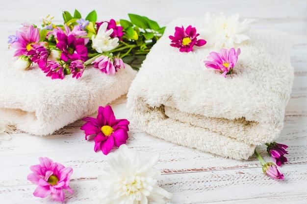 Красивая композиция для концепции спа или ванны