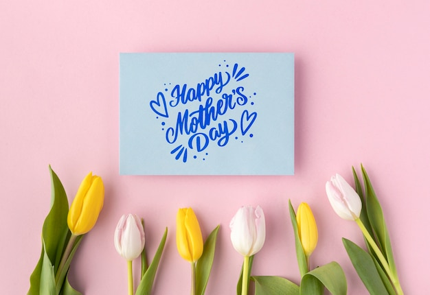 Beautiful composition for mother's day event