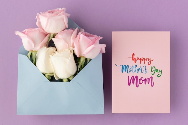Beautiful composition for mother's day Free Photo