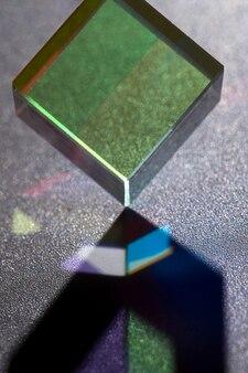 프리즘 광 편향과 아름다운 개념