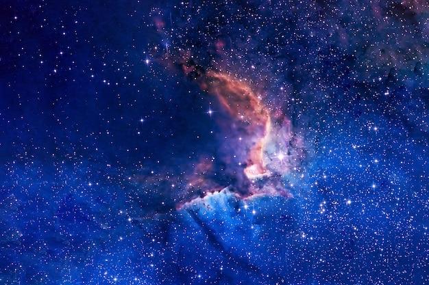 Красивая космическая туманность. элементы этого изображения были предоставлены наса. фото высокого качества