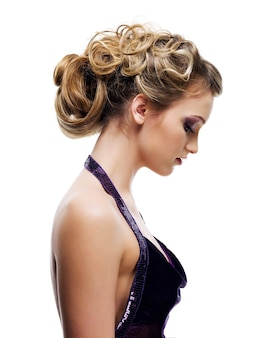 Beautiful curly coiffure