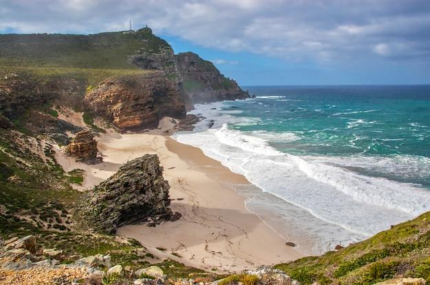 美しいディアスビーチと自然、喜望峰、南アフリカ