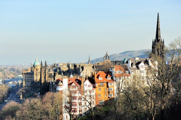 Beautiful edinburgh city