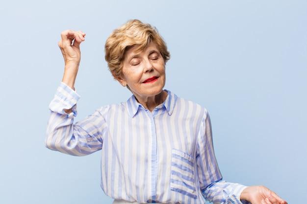 Beautiful elderly woman portrait