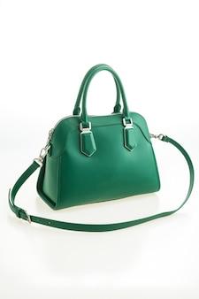 美しいエレガンスと贅沢なファッショングリーンハンドバッグ