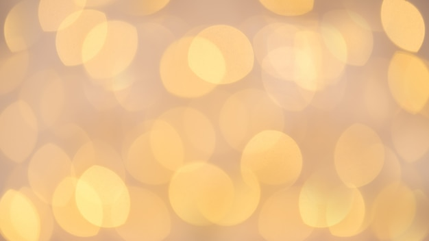 Beautiful festive  of blurred lights with bokeh effect