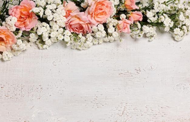 Красивая цветочная рамка