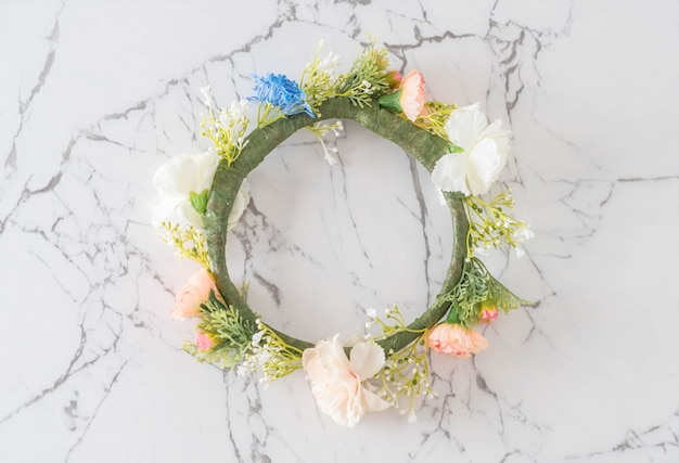 Beautiful flower crown